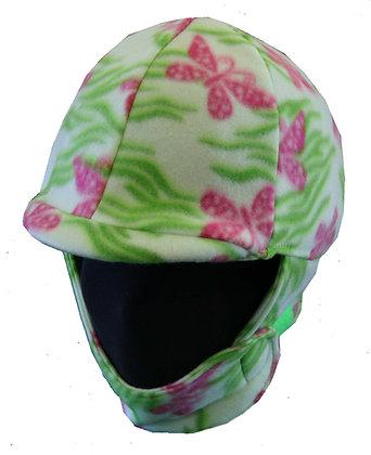 Pink & Green Butterfly Fleece