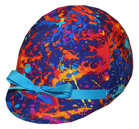 Spin Art Helmet Cover