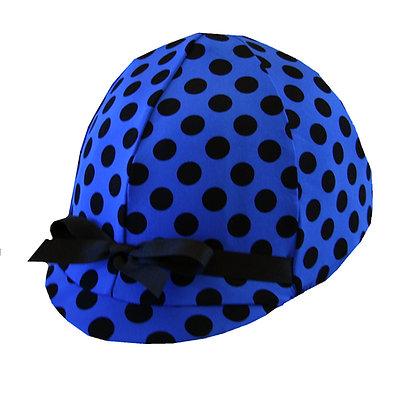 Royal Blue Polka