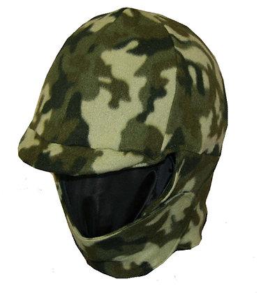 Green Camouflage Fleece