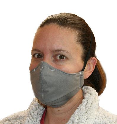 Grey Face Mask