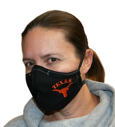 Texas Longhorn Face Mask