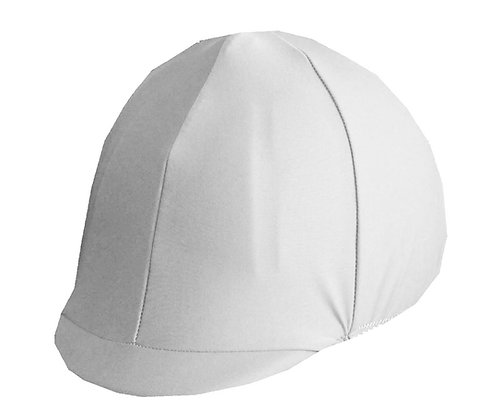 White helmet cover w/o bow