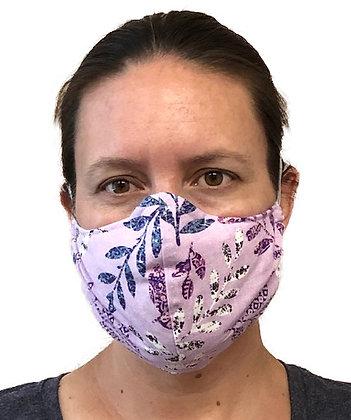 Lavender Leaves Face Mask