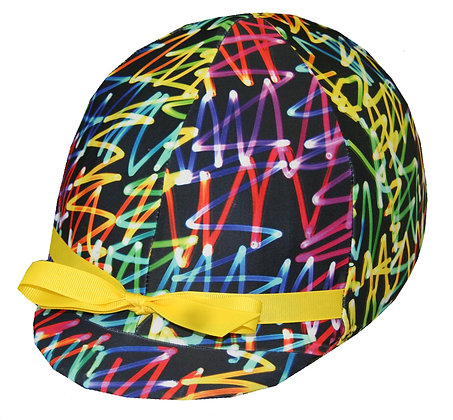 Neon Lights Helmet Cover