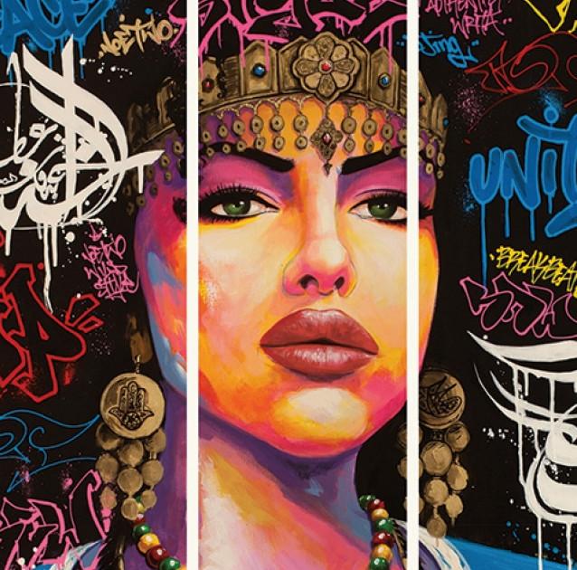 Affiche Hip-Hop du Bronx aux rues arabes
