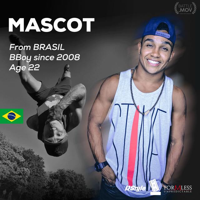 bboy Mascot