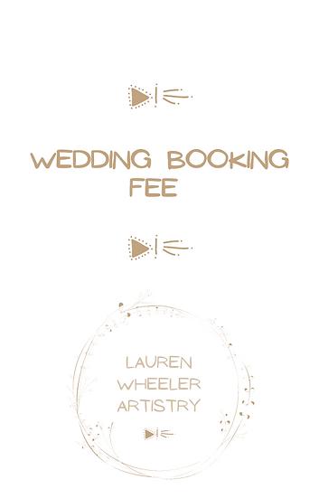 Wedding Booking Fee