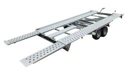 mietlift.ch Pongratz L-AT 400 T-K abkippbar. Anhänger-Center Räterschen