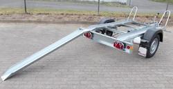 mietlift.ch EMA 750 U Motorradanhänger mit 2 - 3 Schienen.Anhänger-Center Räterschen