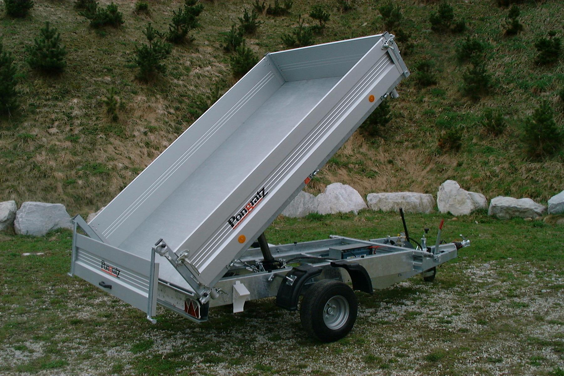 mietlift.ch Pongratz RK 2600/15 G Rückwärtskipper Anhänger-Center Räterschen