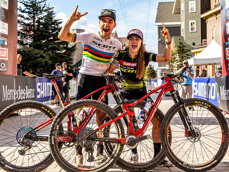 Schurter, Courtney and SRAM Renew Contracts Until 2022 with SCOTT-SRAM MTB Racing