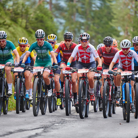 Langvad and Batten Sensational on Stage 1 of the Swiss Epic
