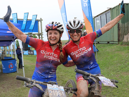 Exciting start to the 2020 KAP sani2c ladies race