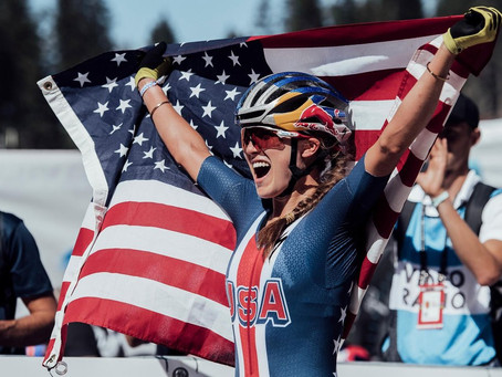 Kate Courtney steals the show at the 2018 UCI XCO World Championships