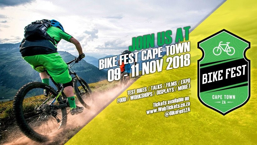 BIKE FEST 2018 Cape Town is here! WIN tickets with DirtyheartMTB