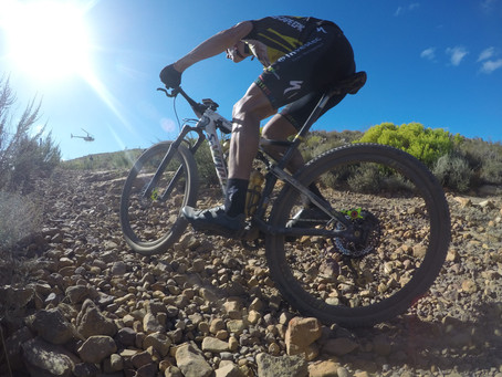 2018 ABSA Cape Epic Women's Race Highlights - Stage 4 - Team Spur OUT & Investec Songo power to