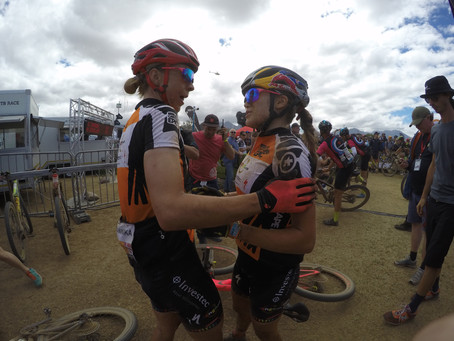 2018 ABSA Cape Epic UCI Women's Race- Investec Songo gain more time over the rest.