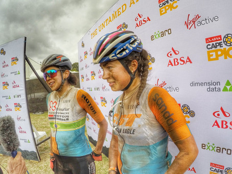 2018 ABSA Cape Epic -UCI Women UPdate- Stage 6 - GC change as we fly towards home.