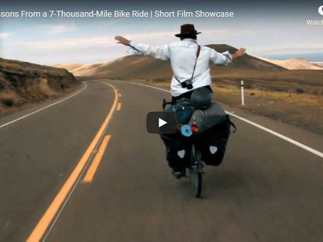 Life Lessons From a 7-Thousand-Mile Bike Ride