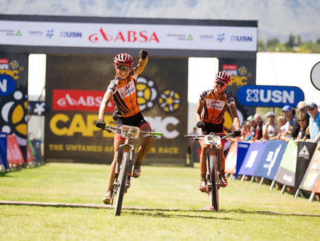 Cape Epic 2018 : Courtney and Langvad gunning for the win