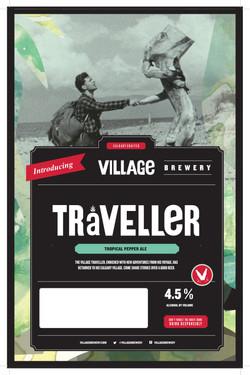 Village Traveller Poster