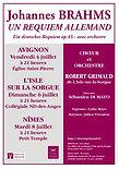 2014  B juillet Brahms Un Requiem allema