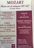 2010 juillet Mozart Messe en ut Mineur A