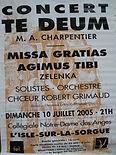 2005  C  juillet Te Deum de M. A. Charpe