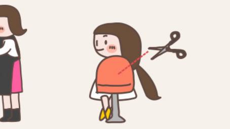 小学生のヘアドネーション