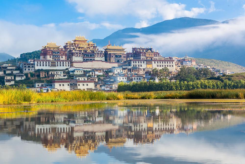Ganden Sumtseling Monastery, Shangri-La, Yunnan
