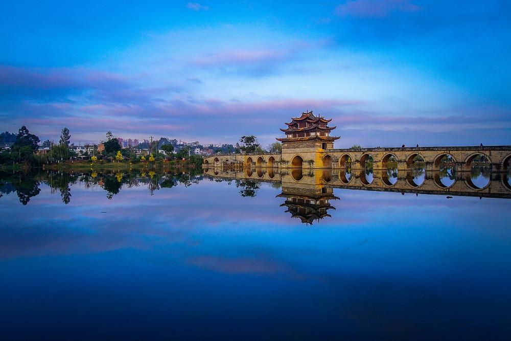 Double Dragon Bridge, Jianshui