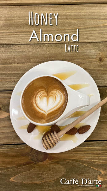 Honey Almond Latte Poster (vertical)-01.