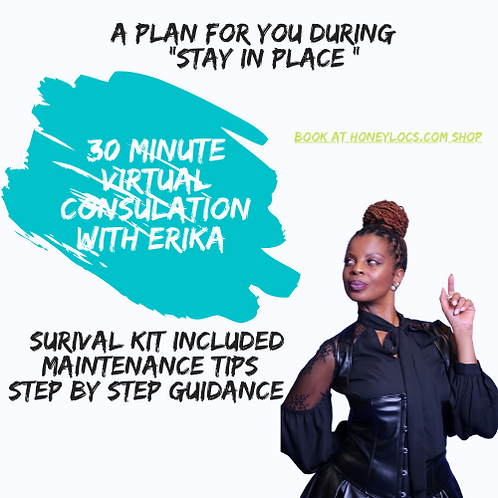 Virtual Consultation with Erika & Survival Kit