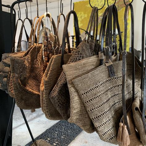Håndhæklede tasker