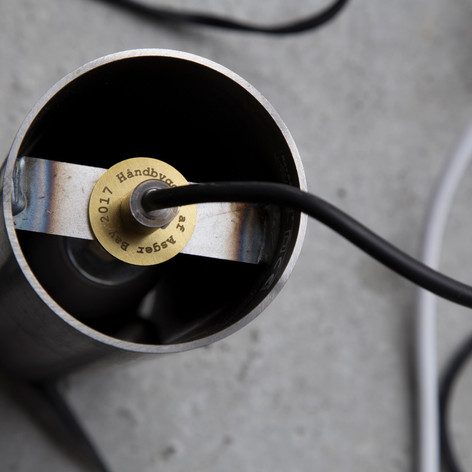 Rå jern lamper med den mest avancerede led teknik