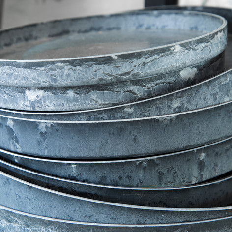 genbrugsplast bakker og vaser