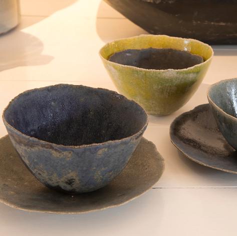 Fransk keramik - hånd formet - smukt