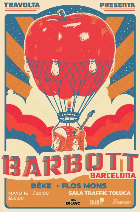 Gig poster para Barbott