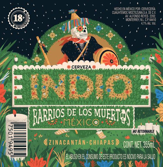 Cerveza Indio - Barrio de los Muertos