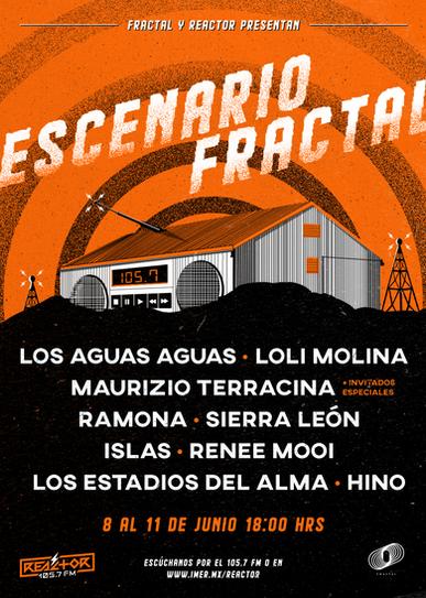 Poster para Escenario Fractal