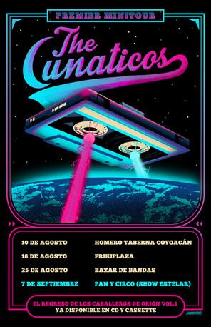 Tour poster para The Lunaticos