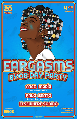 Gig poster para Eargasms BYOB Day Party