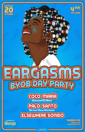 Gig poster para Eargasms BYOB Day Party