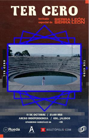 Gig poster para invitados de Sierra León