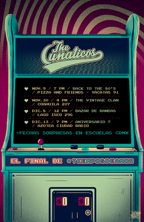 Tour poster para The Lunaticos