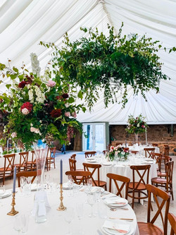 Round in marquee
