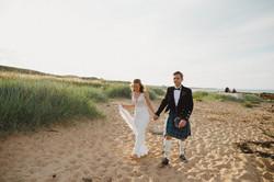 Dukes - Iona and Callum - Beach