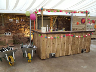 Style Your Own Cow Shed Bar