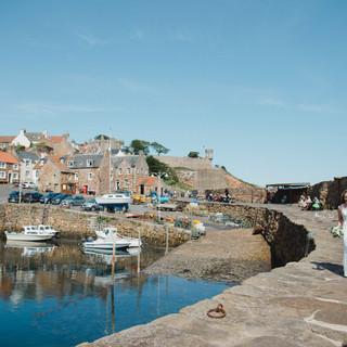 Dukes - Iona and Callum - Crail harbour.